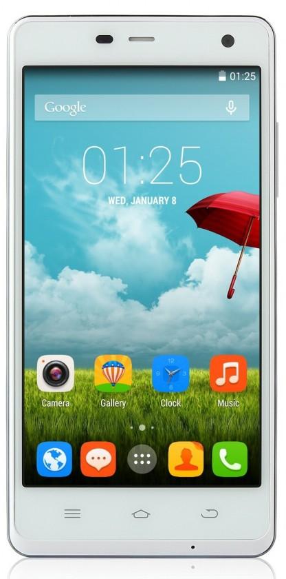 Dual SIM telefón THL 5000 Ultraphone, bílý ROZBALENO