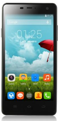 Dual SIM telefón THL 5000 Ultraphone, čierny