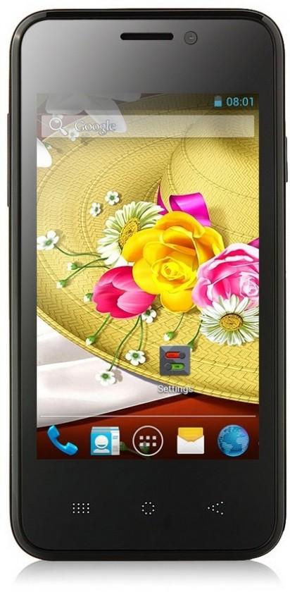 Dual SIM telefón THL A3 Black