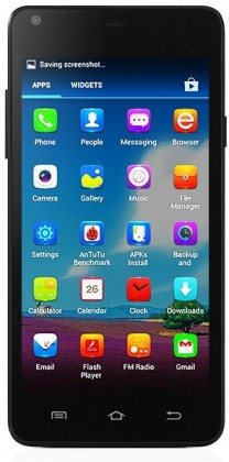 Dual SIM telefón  THL T5s Black