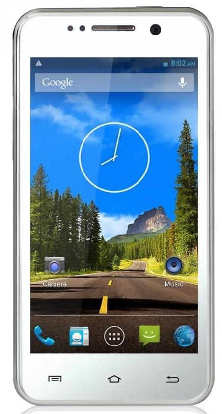 Dual SIM telefón THL W100S White