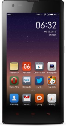 Dual SIM telefón Xiaomi Redmi (Hongmi) Dual SIM black