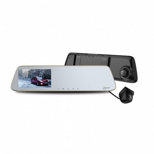 """Duálna Autokamera Cel-tec M6s, FullHD, LDWS, 5"""" dotykové zrkadlo"""