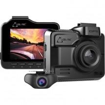Duálna kamera do auta Cel-Tec K4 Dual GPS, WiFi, 4K, WDR, 160°