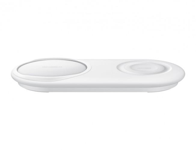Duálna nabíjacia podložka Samsung pre bezdrôtové nab., biela