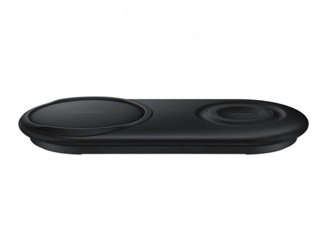 Duálna nabíjacia podložka Samsung pre bezdrôtové nab., čierna