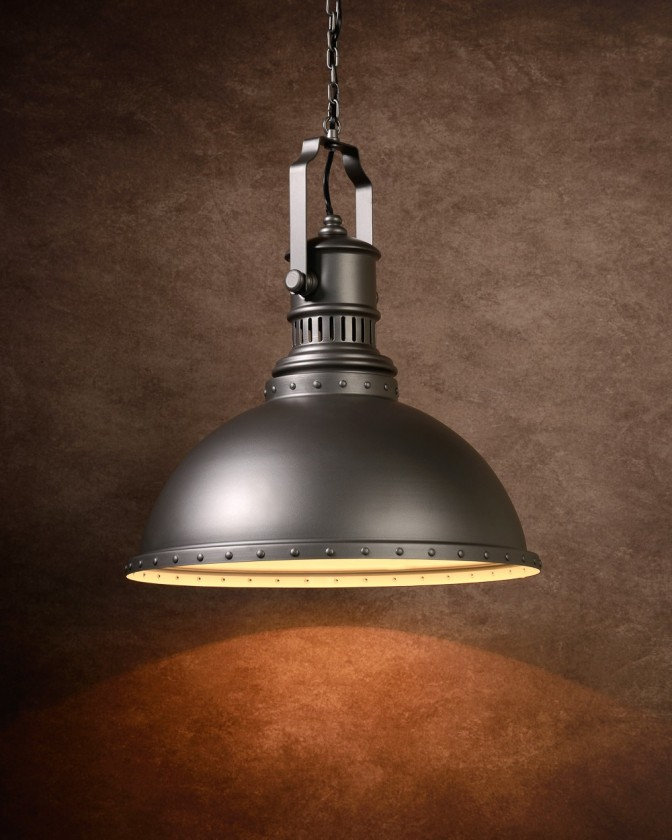 Dumont - stropné osvetlenie, 18W, E27 (sivá)