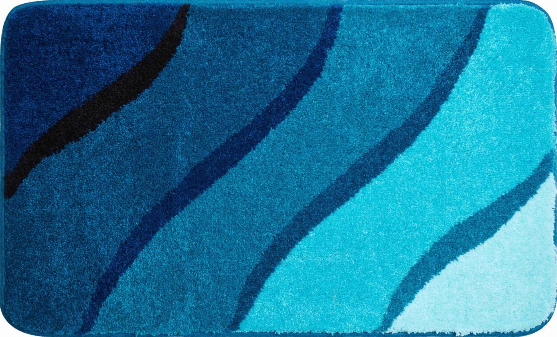 Duna - Kúpeľňová predložka 60x100 cm (tyrkysová)
