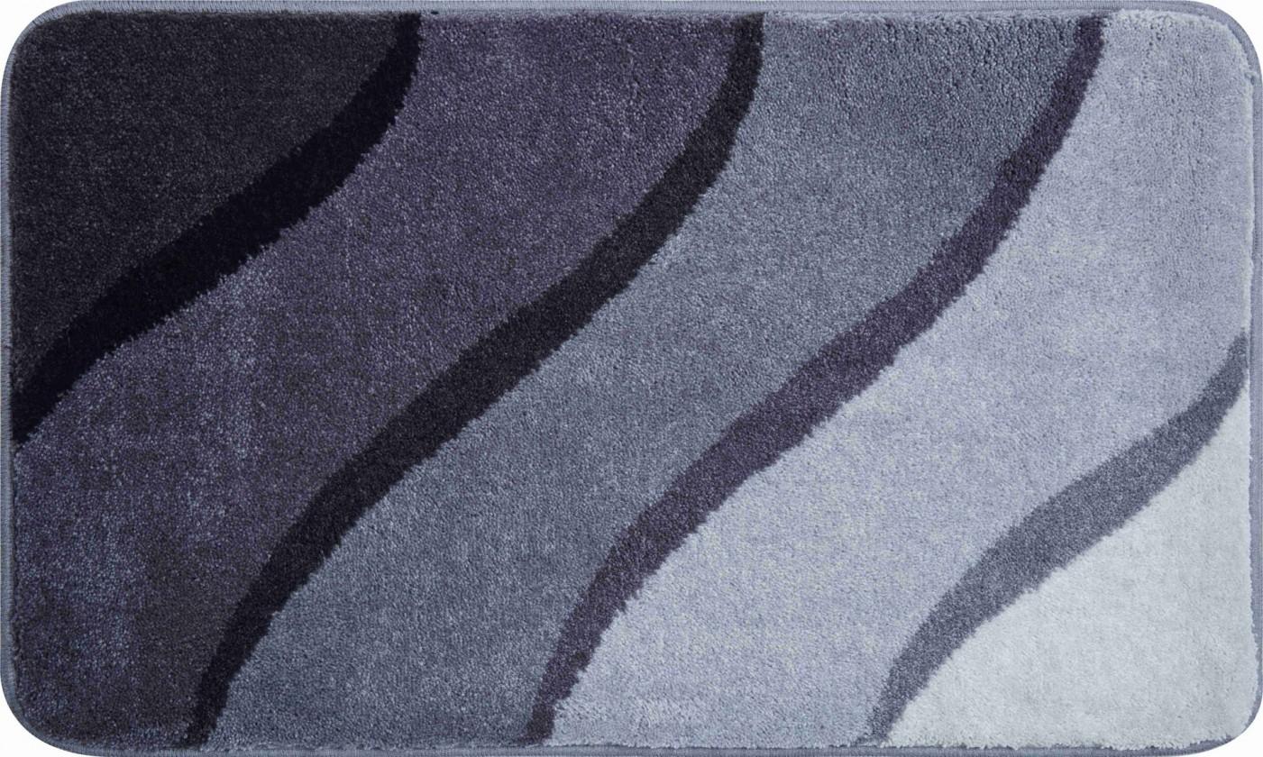 Duna - Kúpeľňová predložka 70x120 cm (sivá)
