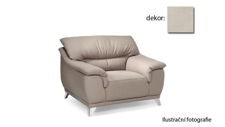 Dunja - kreslo (carezza - beige B131, sk. AS)
