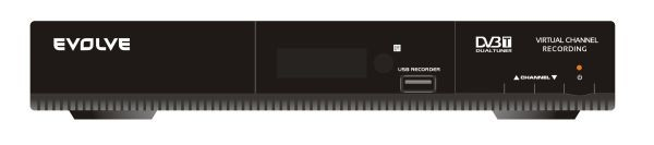 DVB-T Evolveo Mercury se záznamem na USB disk