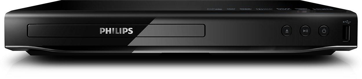 DVD prehrávač Philips DVD přehrávač DVP2880 USB 2.0 DivX Ultra ROZBALENO
