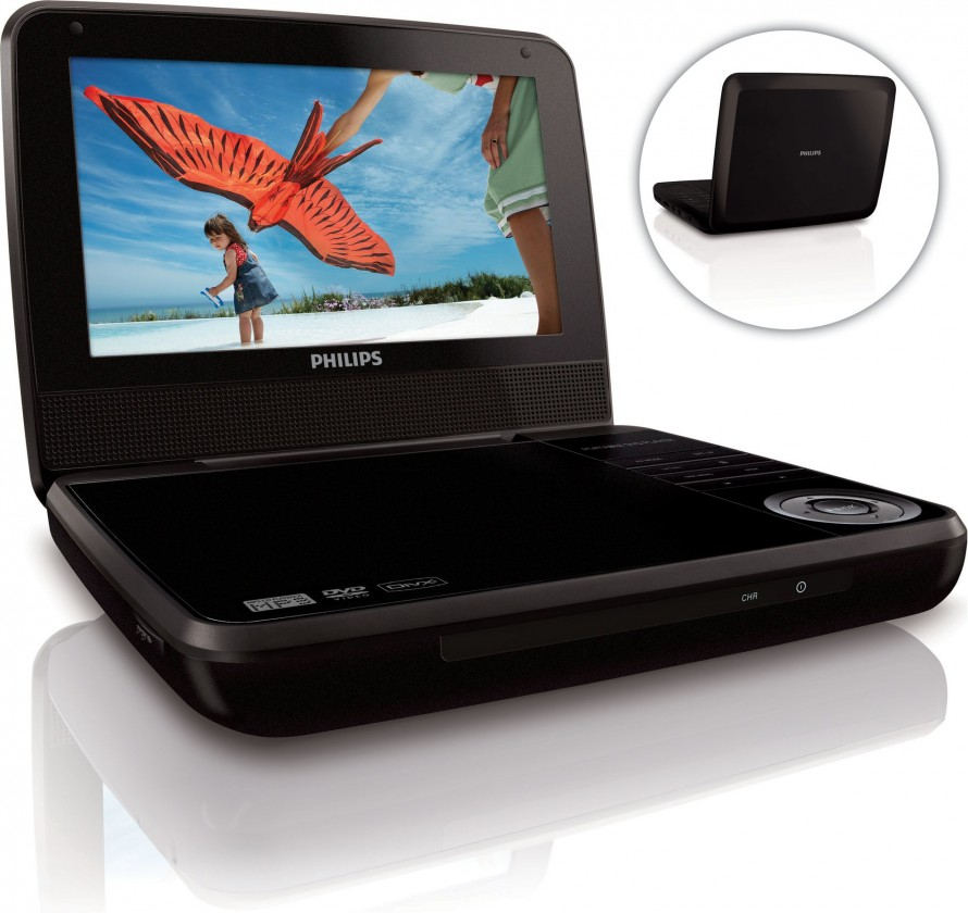 DVD prenosné Philips PD7000B