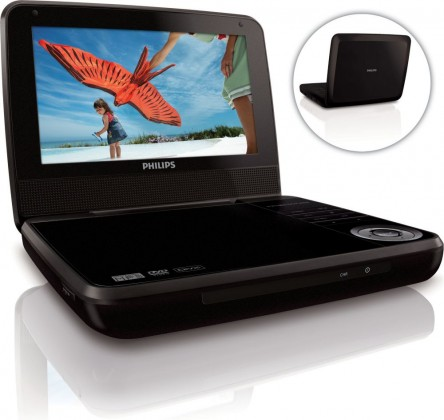 DVD prenosné Philips PD7001B/12 ROZBALENO