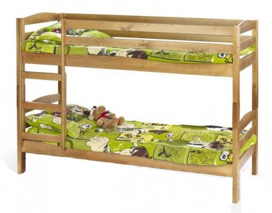 Dvojposchodová posteľ Sam (borovica)