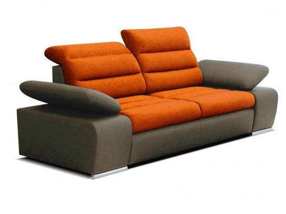 Dvojsedák Dvojsedačka Korfu oranžová, hnedá
