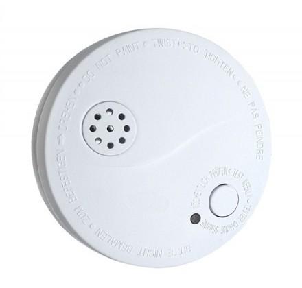 Dymové čidlá Detektor dymu s alarmom Solight 1D33, biely