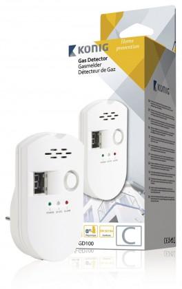 Dymové čidlá KONIG SAS-GD100 GAS DETECTOR