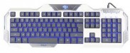 E-BLUE Auroza klávesnica biela (YCEBUG79TU)