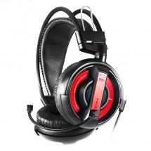 E-Blue Cobra I, herné slúchadlá s mikrofónom, čierna  (EHS013RE)