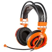 E-Blue Cobra I, herné slúchadlá s mikrofónom,oranžová (EHS013OG)