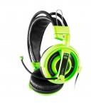 E-Blue Cobra I, herné slúchadlá s mikrofónom, zelená (EHS013GR)