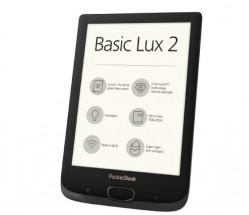 E-book POCKETBOOK 616 Basic Lux 2, Obsidian Black + ZADARMO púzdro v hodnote 18,9 EUR