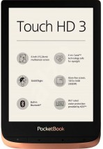 E-book POCKETBOOK 632 Touch HD 3, Spicy Copper, 16GB POUŽITÉ, NEO