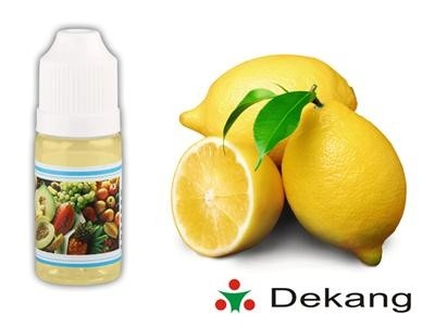 El. cigareta liquid, 10ml, 12mg, Lemon, DEKANG