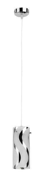 Elegance - Stropné osvetlenie, 6381 (chromová/opálová)