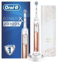 Elektrická zubná kefka Oral-B Genius X 20100S Rose Gold