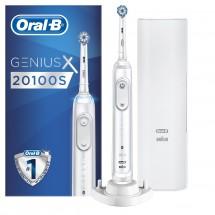 Elektrická zubná kefka Oral-B Genius X 20100S Sensitive White