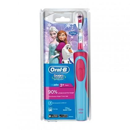 Elektrické kefky Detská elektrická zubná kefka Oral-B Vitality Kids Frozen