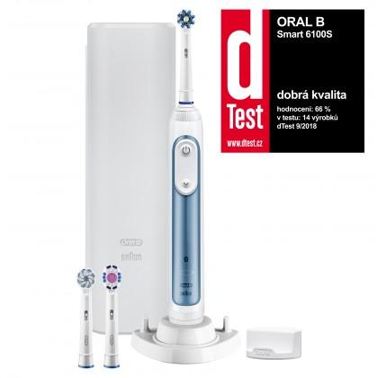 Elektrické kefky Elektrická zubná kefka Oral-B Smart 6 6100S