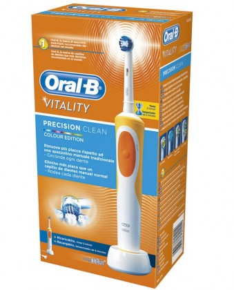 Elektrické kefky Oral-B Vitality Precision Clean Orange