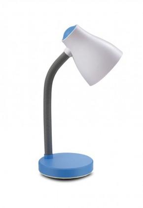 Elis - Lampa stolová, LED žiarovka (béžová/modrá)