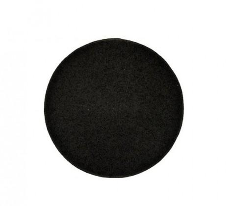Elite Shaggy - koberec, 120x120 (100%PP shaggy, guľatý, antracit)