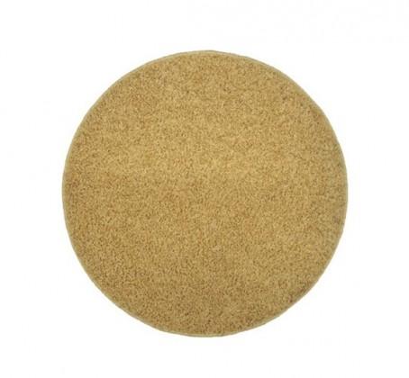 Elite Shaggy - koberec, 120x120 (100%PP shaggy, guľatý, béžová)