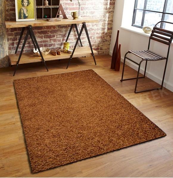 Elite Shaggy - koberec, 150x80cm (100%PP shaggy, hnedá)
