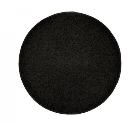 Elite Shaggy - koberec, 160x160 (100%PP shaggy, guľatý, antracit)