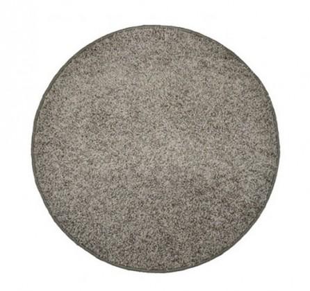 Elite Shaggy - koberec, 160x160 (100%PP shaggy, guľatý, sivá)