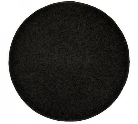 Elite Shaggy - koberec, 200x200 (100%PP shaggy, guľatý, antracit)
