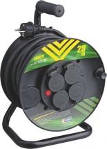Emos P084251 - Predlžovací kábel na bubne 4 zásuvky, 25m