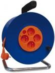 Emos P19450, PVC predlžovací kábel na bubne, 4 zásuvky 50m