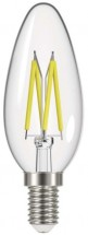 Emos Z74218 LED žiarovka Filament Candle 6W E14 neutrálna biela