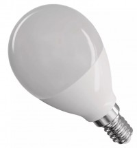 Emos ZQ1230 LED žiarovka Classic Globe 8W E14 teplá biela