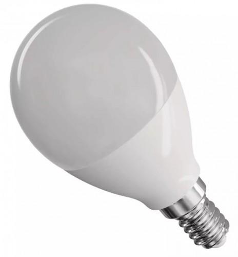Emos ZQ1231 LED žiarovka Classic Mini Globe 8W E14 neutrál biela