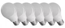 Emos ZQ51406 LED žiarovka Classic A60 9W E27 teplá biela, 6 ks