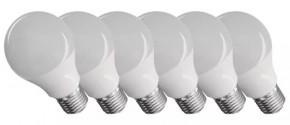 Emos ZQ51416 LED žiarovka Classic A60 9W E27 neutrál biela, 6 ks