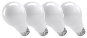 Emos ZQ51474 LED žiarovka Classic A60 10W E27 teplá biela , 4 ks
